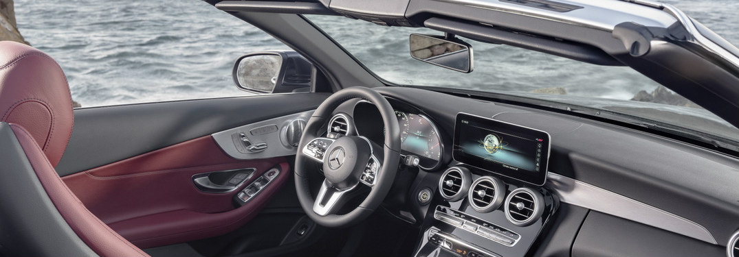 2019 Mercedes-Benz C-Class Cabriolet dashboard side view