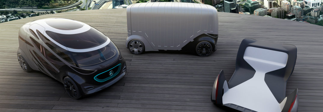 Vision URBANETIC for passengers, for cargo, and the base chassis