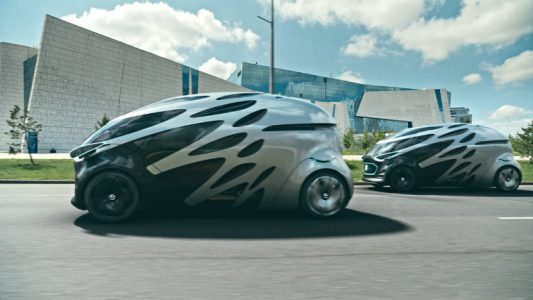 Mercedes-Benz Vision URBANETIC for passengers