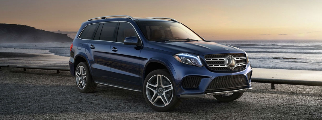 Blue 2019 Mercedes-Benz GLS