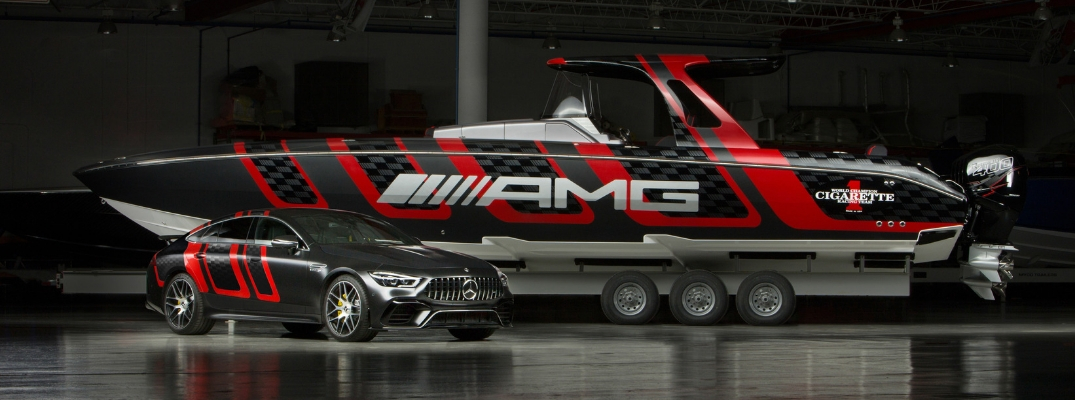 Mercedes-AMG® 41' AMG® Carbon Edition and Mercedes-AMG® GT 63 S 4-door Coupe