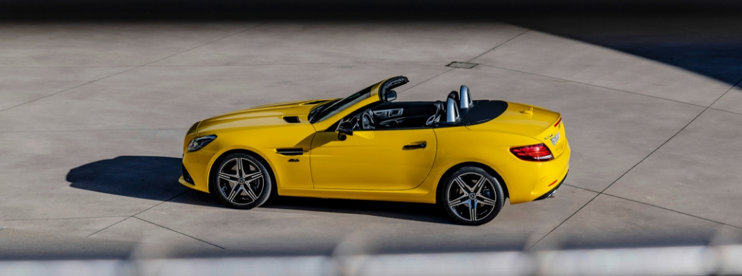Yellow 2020 Mercedes-Benz SLC 300 Final Edition