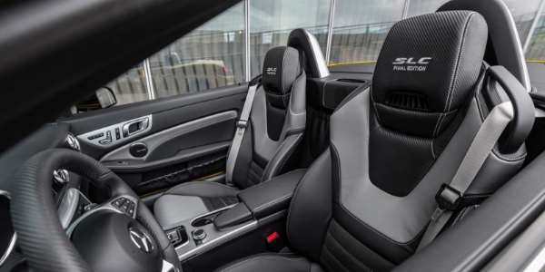 Seating in 2020 Mercedes-Benz SLC 300 Final Edition