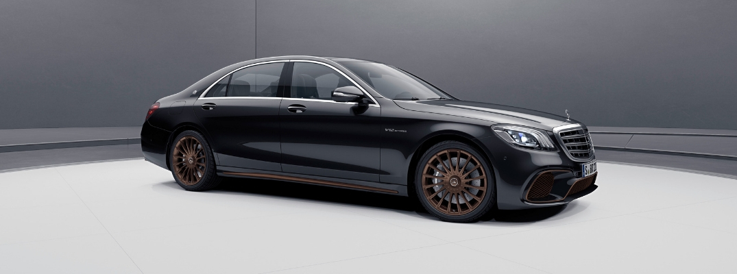 Limited-Edition Mercedes-AMG® S 65 Final Edition Aimed at Collectors