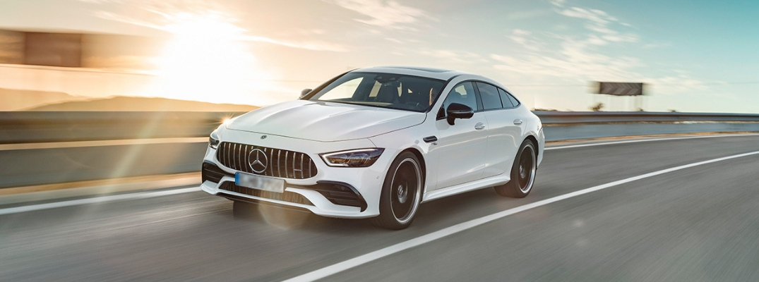 White 2019 Mercedes-AMG® GT Coupe