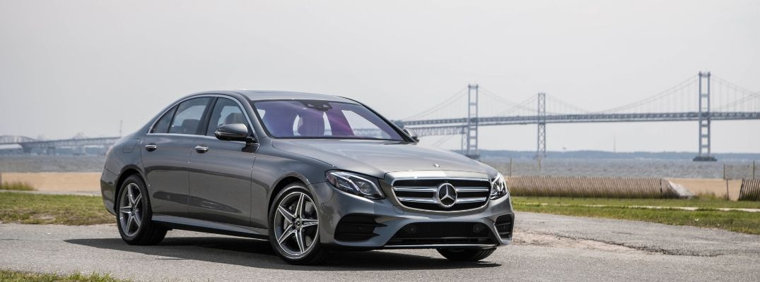 Grey 2019 Mercedes-Benz E450 4MATIC® Sedan