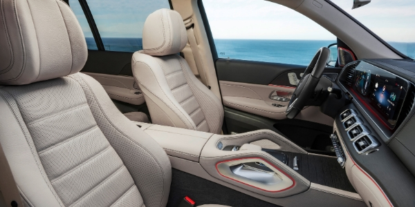 Seating in 2020 Mercedes-Benz GLS