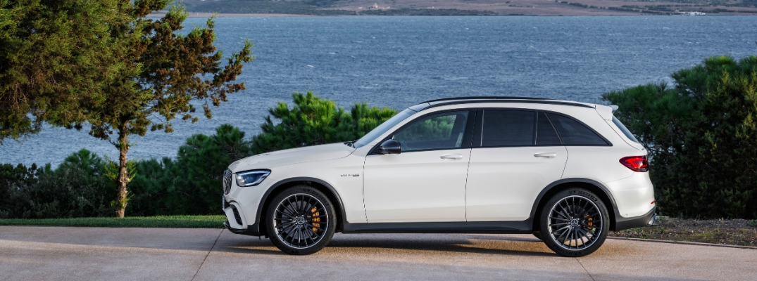 White 2020 Mercedes-AMG® GLC 63