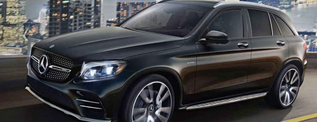 Black 2019 Mercedes-Benz GLC SUV