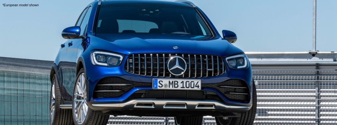 Blue European 2020 Mercedes-AMG® GLC 43