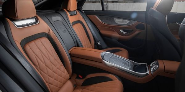 Rear seating in 2020 Mercedes-AMG® GT 53 4-Door Coup