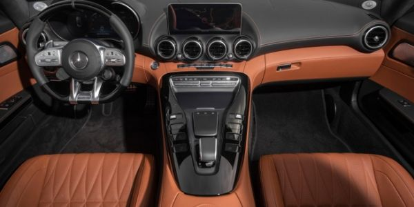 Interior view of 2020 Mercedes-AMG® GT C Roadster