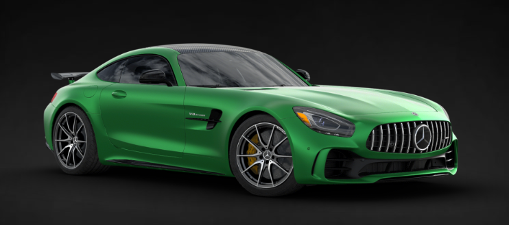 2019 Mercedes-AMG® GT R Coupe in AMG® Green Hell Mango