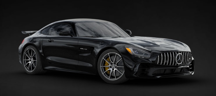 2019 Mercedes-AMG® GT R Coupe in Black