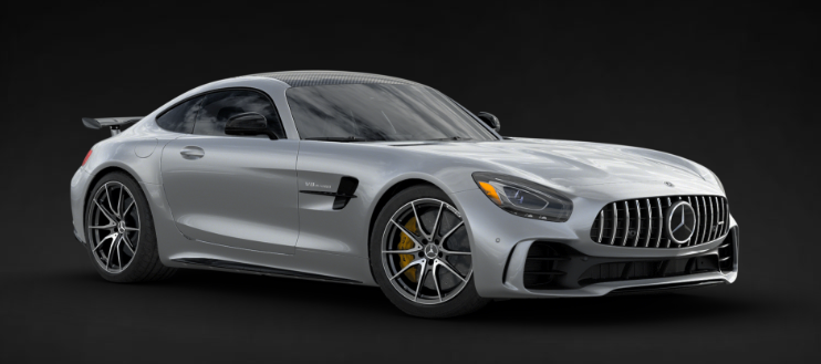 2019 Mercedes-AMG® GT R Coupe in Iridium Silver Metallic