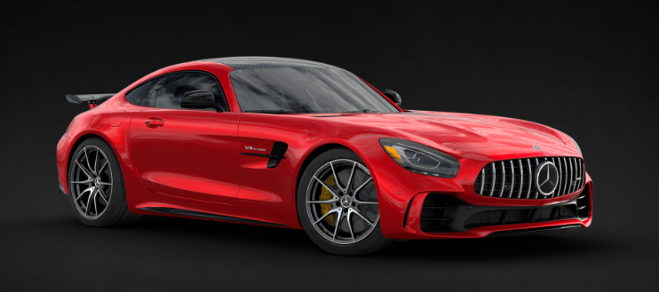 2019 Mercedes-AMG® GT R Coupe in Jupiter Red