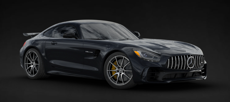 2019 Mercedes-AMG® GT R Coupe in Magnetite Black Metallic