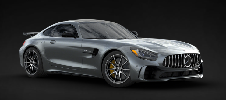 2019 Mercedes-AMG® GT R Coupe in Selenite Grey Metallic