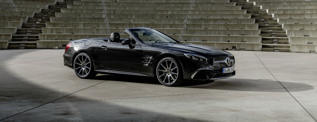 Exterior view of 2020 Mercedes-Benz SL Roadster Grand Edition