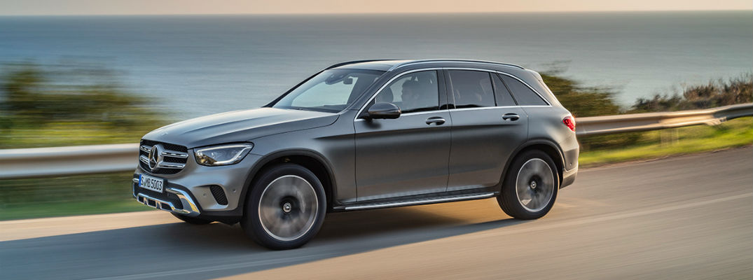 How Many Colors is the 2020 Mercedes-Benz GLC Available In?