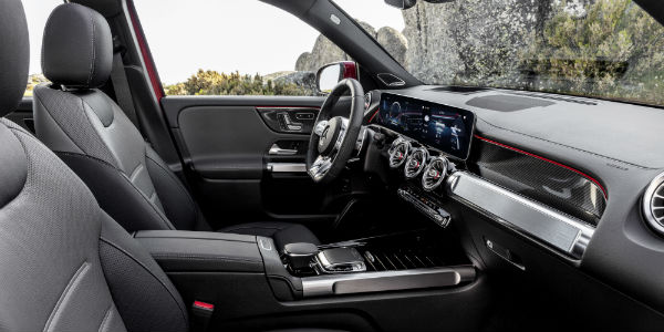 Interior view of 2021 Mercedes-AMG® GLB 35