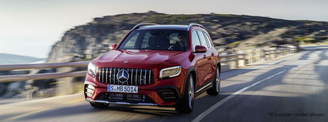 Read European model 2021 Mercedes-AMG® GLB 35