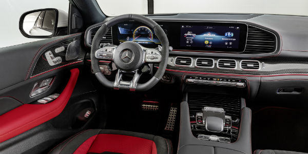 Interior view of 2021 Mercedes-AMG® GLE 53 Coupe