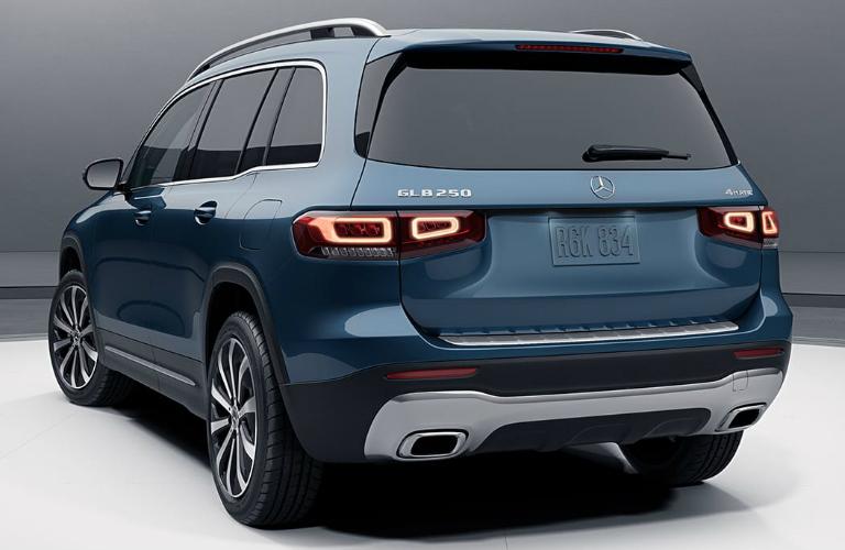 2020 Mercedes-Benz GLB rear exterior