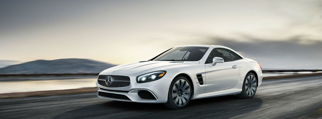 White 2020 Mercedes-Benz SL Roadster