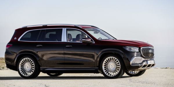 Exterior view of 2021 Mercedes-Maybach
