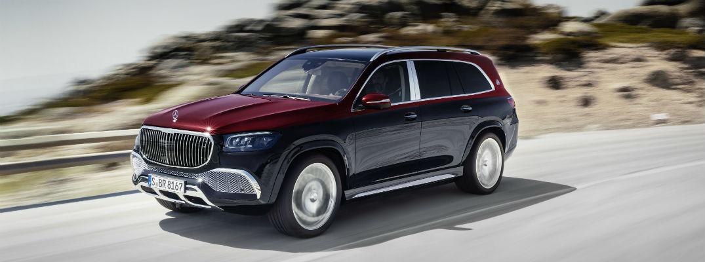 2021 Mercedes-Maybach driving