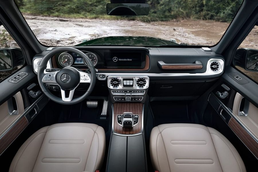 2020 Mercedes-Benz G-Class Interior Features and Design