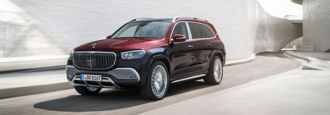 2021 Mercedes-Maybach GLS 600 4MATIC from exterior front