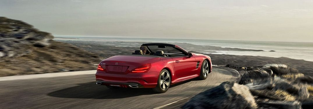 2020 Mercedes-Benz SL from exterior