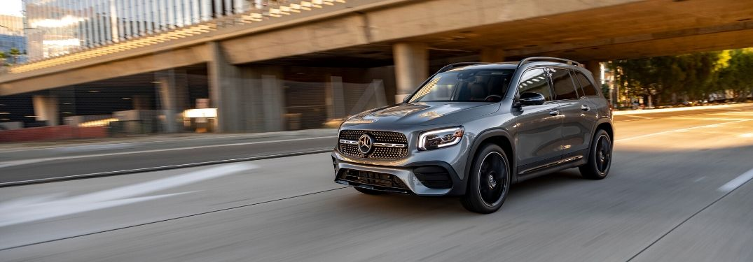 2020 Mercedes-Benz GLB from exterior front