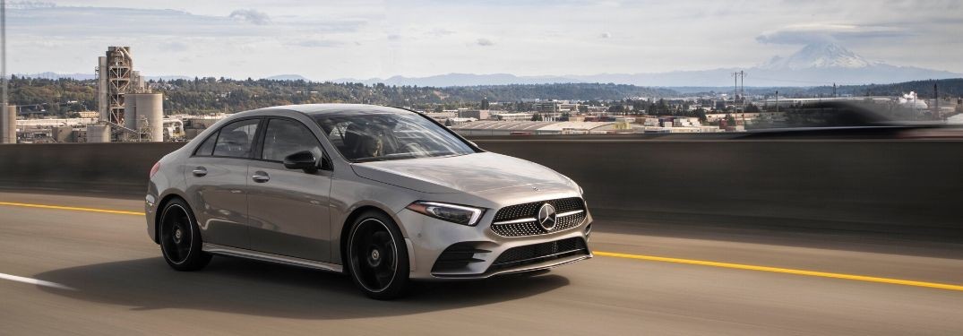 2019 Mercedes-Benz A-Class on road