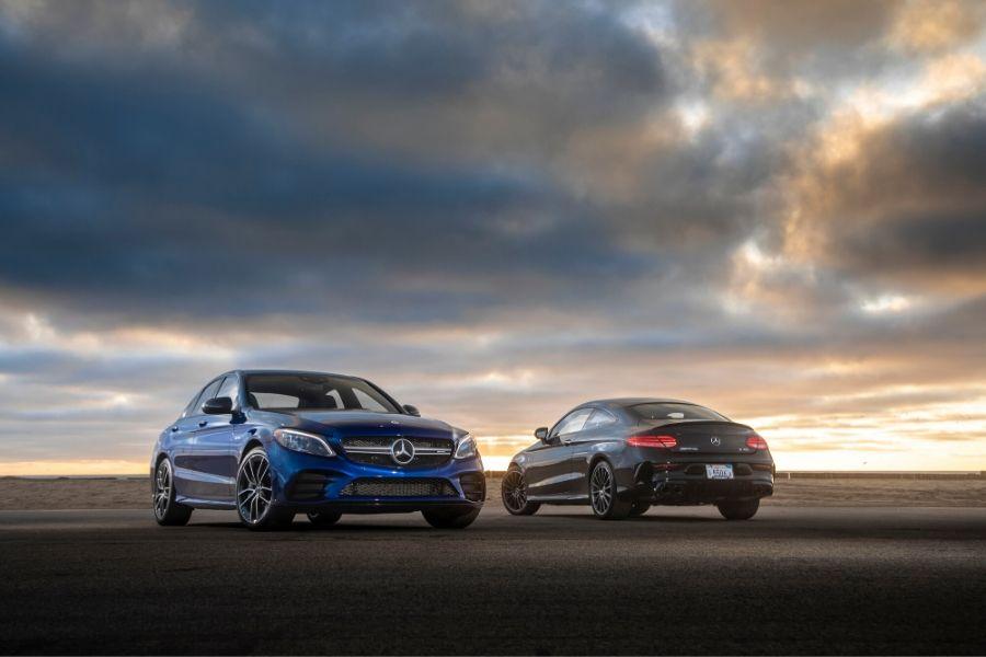 2019 Mercedes-Benz C-Class models
