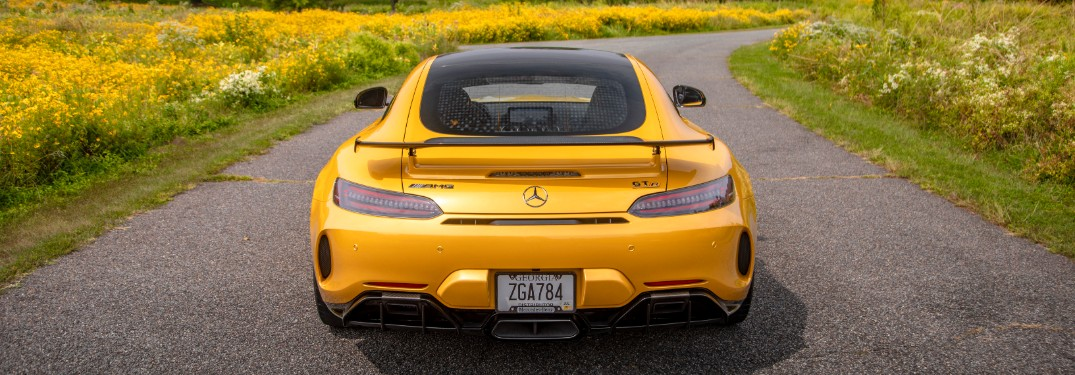 2020 Mercedes-AMG GT Coupe from rear