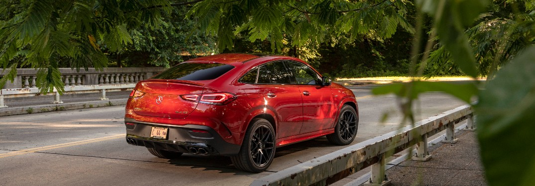 2021 Mercedes-Benz GLE Coupe from exterior rear