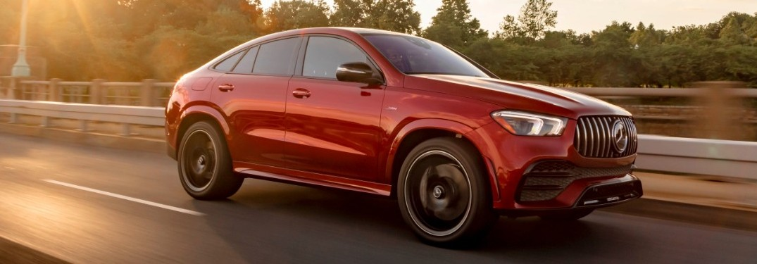 2021 Mercedes-AMG GLE Coupe on road
