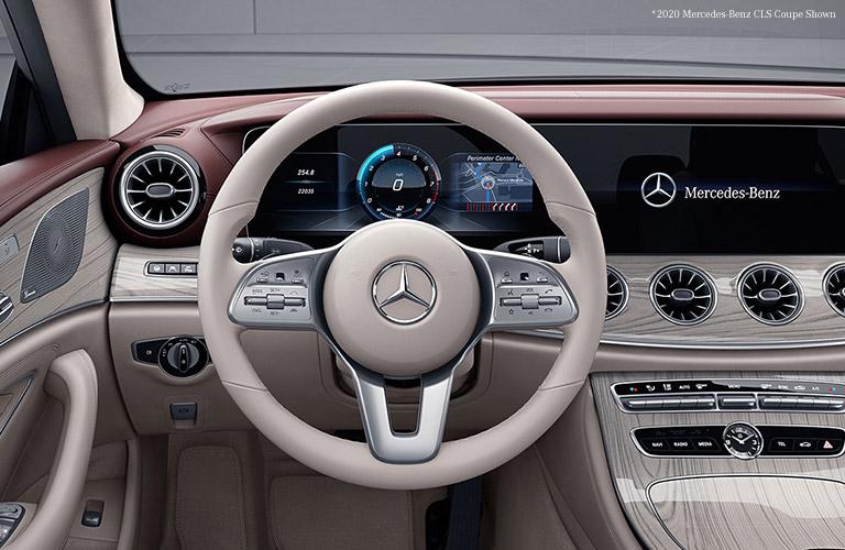 2021 Mercedes-Benz CLS Coupe interior front dash
