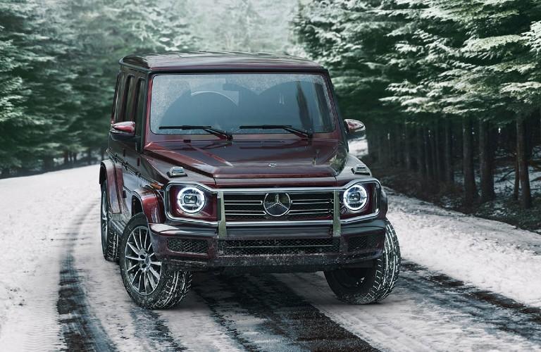 2021 Mercedes-Benz G-Class from exterior front