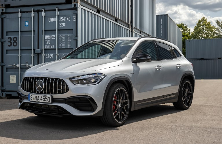 2021 Mercedes-Benz GLA from exterior front