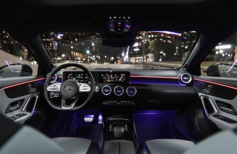 2021 Mercedes-Benz A-Class front dash