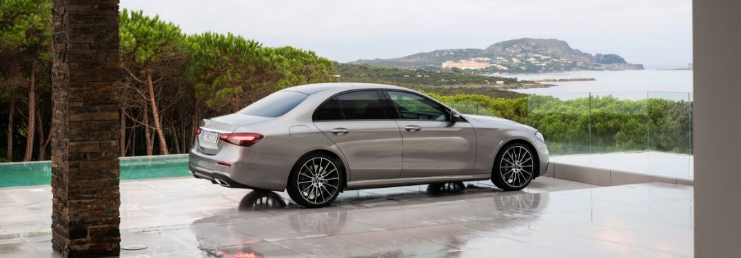 Which engine option for the 2021 E-Class Sedan is strongest?