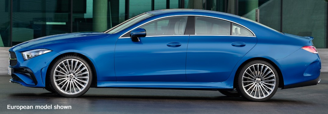 2022 Mercedes-Benz CLS European model from side