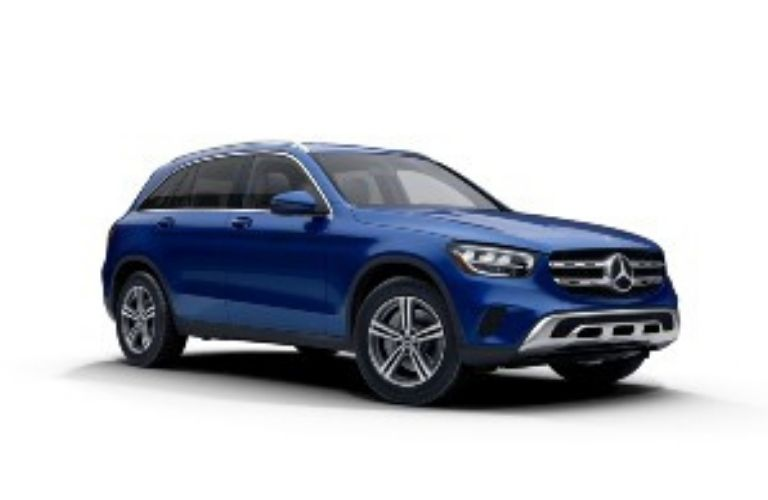 2021 Mercedes-Benz GLC Brilliant Blue Metallic
