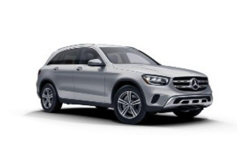 2021 Mercedes-Benz GLC Cirrus Silver Metallic