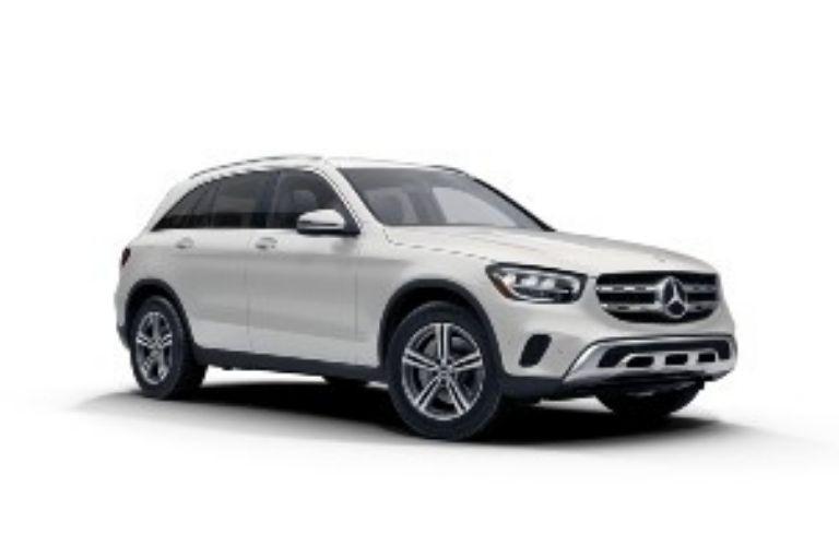 2021 Mercedes-Benz GLC Diamond White Metallic