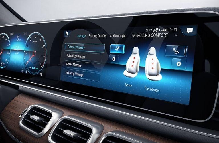 2021 Mercedes-Benz GLS Touchscreen Multimedia Display